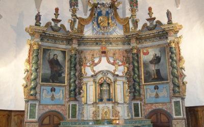 Retable Église St-Pierre, Rivière-Enverse, Auvergne Rhône Alpes, Haute-Savoie (74)