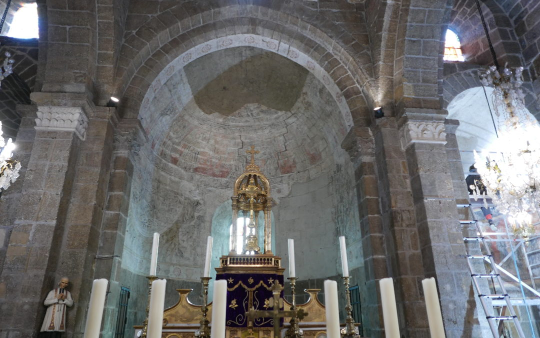 Église Saint-Martin, Polignac, Auvergne Rhône Alpes, Haute-Loire (43)