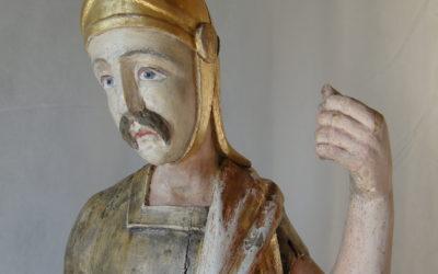Sculptures polychromes de Montagny-Les-Lanches, Auvergne Rhône Alpes, Haute-Savoie (74)