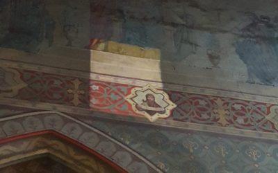Diagnostic des décors peints, église Notre-Dame, Bourg-en-Bresse, Ain (01)